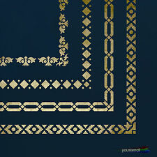 Decorative Borders  Stencil : For Walls, Furniture and Art:  ST30