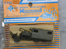Roco / Herpa Minitanks (New) Modern German Unimog Communication Truck Lot #553