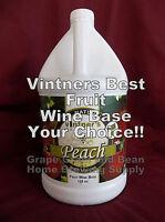 Vintners Best Fruit Wine Base, Wine Making Fruit Base, Your Choice!!! FREE YEAST
