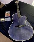 Alvarez Yairi DY 88 Blue Acoustic-Electric Guitar for sale