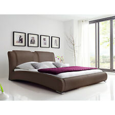 Schlichter® Polsterbett Celine Royal , Braun, 140x200 cm