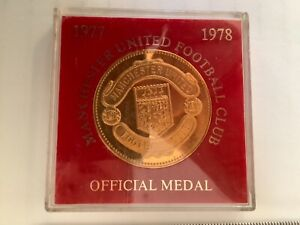 Manchester United official medal