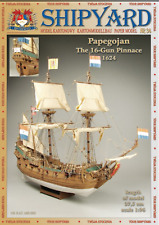Papegojan (Parrot) ship 1:96 paper model kit 37cm long