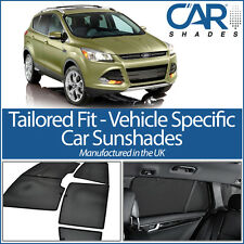 Ford Kuga 5 Door 2012 On UV CAR SHADE WINDOW SUN BLINDS PRIVACY GLASS TINT BLACK