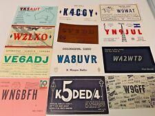 Vintage Ham Radio  Postcards  Lot  # 10