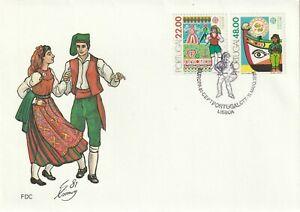 1981 Portugal FDC cover Europa:folklore