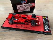 BBR 20 PCS 1/43 Ferrari F2008 MASSA winner Brazil 2008 WORLD CHAMPION Raikkonen