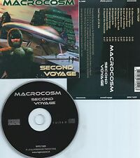 MACROCOSM-SECOND VOYAGE(PROXYON,LASERDANCE)-SWITZERLAND-CD-NEW-