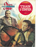 STAR-CINE BRAVOURE - TRAIN D'ENFER - N°39 - 1962 - Stanley Baker - Peggy Cummins