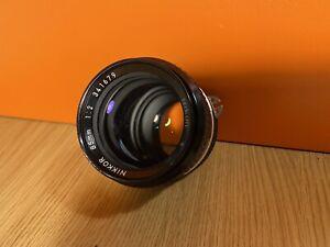 NIKON NIKKOR AI 85mm f/2 SLR PRIME CAMERA LENS #2