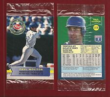 1994 Post Cereal Canada Toronto Blue Jays #2 Paul Molitor in Cello Pack