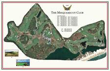 Misquamicut GC-1895-Donald Ross-a  Vintage Golf Course Maps print