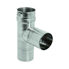 """FasNseal Duravent Stainless Steal Vent Tee 4"""" Fst4"""