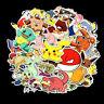 80x Aufkleber Set Stickerbomb Tuning Autoaufkleber Style Decals Stickers Pokemon