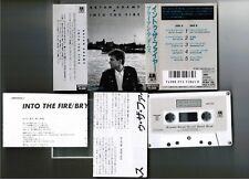 BRYAN ADAMS Into The Fire JAPAN CASSETTE 28P31076  w/PS(flap intact)+INSERT