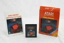 Star Raiders (Atari 2600, 1982) Complete in Box