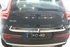Volvo XC40 ab2017 Untere Kofferraumleiste Heckleiste aus Edelstahl Chrome