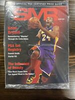 March 2020 PSA SMR Sports Market Report, Kobe Bryant on Cover, Sealed But Torn