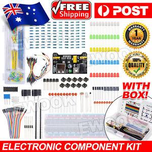 Electronic Component Starter Kit Breadboard LED Buzzer Resistor for STM32 TE715