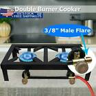 Portable Propane Cooker Burner Stove Gas Outdoor Cooking Camping Stand BBQ Grill