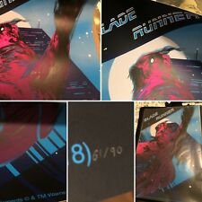 BLADE RUNNER - LTD. ED. NUMBERED SOLD OUT PRINT (by: Zi Xu) Available here