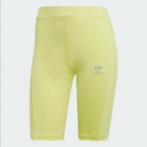 adidas Originals 90's Cycling Women Shorts Semi Frozen Yellow FR0554