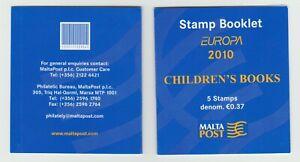 S36580 Malta Europa Cept MNH 2010 Booklet