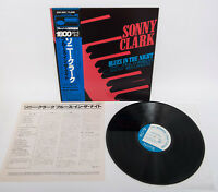 SONNY CLARK Blues In The Night Blue Note GXF-3051 w/Obi Stereo Japan Vinyl LP