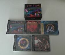Pink Floyd David Gilmour Roger Waters Japan 5 Titles Live CD Set + LTD Slipcase