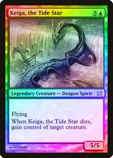 Keiga, the Tide Star Foil Modern Masters Nm Blue Mythic Rare Mtg Card Abugames