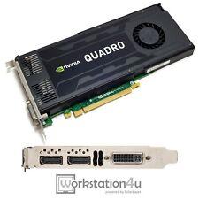 Nvidia Quadro K4200 Cad Graphic Card 4GB Solidworks Catia Autocad 4K