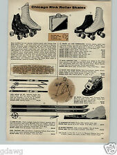 1956 PAPER AD Lund Fis Snow Skies Traveler Laminated Hickory