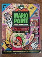 Mario Paint~Official Nintendo Player's Guide~SNES~Super Nintendo