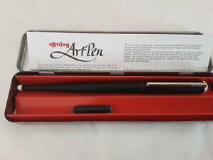 Rotring ArtPen 2.3 Schrift Schreiben Füllfederhalter Kalligraphie Made in UK