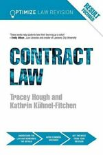 Optimize Contract Law,Kathrin Kuhnel-Fitchen, Tracey Hough