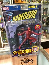 Marvel Legends Spider-Man Classics Series II Daredevil w Comic Book Toy-Biz 2001