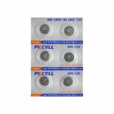 6 Piles Bouton Pkcell AG6, LR920, 171, 370, 371, 371A, SR927, L921, LR69 - Pile
