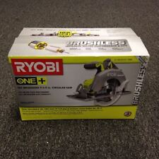 Ryobi P508 18V 18-Volt One+ 7-1/4 in. Circular Saw W/Blade Bare Tool, New in Box