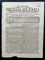 Pascal Paoli Corse 1791 Assemblée Nationale Montaigu Sillery Révolution Vendée