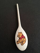 Winnie The Pooh Wooden Spoon - Pyrograved and Painted (11.5 inch)