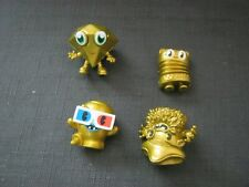 moshi monster special edition 4 gold figures