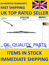 Front Wipers Set Blade Windscreen VALE 574136 for VW LHD