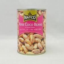 Natco - 2 x Conserve de haricots cocos roses à l'eau salée
