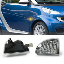 Clear LED Side Marker Turn Signal Light Lamp For Mercedes-Benz Smart Fortwo W451