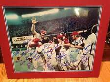 1980 Phillies World Series Celebration 16 x 20 signed by 31 Players All Possible