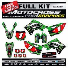 KAWASAKI KXF 450 2012 2013 2014 2015 MX Graphics MX Decals MX Stickers Decallab