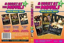 A NIGHT AT THE MOVIES 2 * TRIPLE TREAT * NEW SEALED DVD
