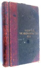 1905 - 1912 Raob Joseph Brodie Lodge. No 1053 Blackpool Masonic Register Book
