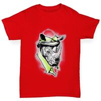 Twisted Envy Safari Rhino Boy's Funny T-Shirt