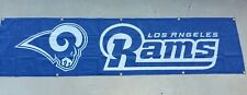 Los Angeles Rams Tailgate 8ft x 2Ft, LA Rams flag, banner, navy blue white 2017